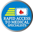 Rapid Access to Medical specialists